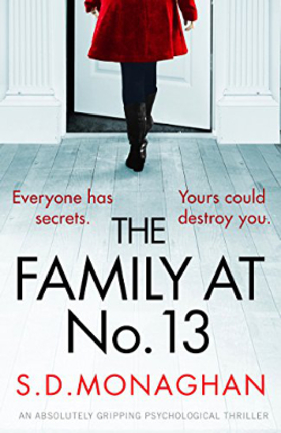 """Cover art: """"The Family at No. 13"""" by S.D. Monaghan"""