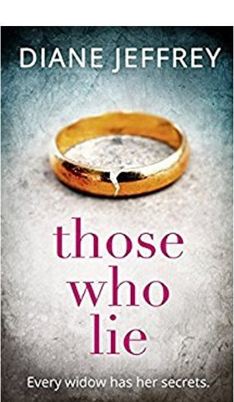 """Cover art:  """"Those Who Lie"""" by Diane Jeffrey"""